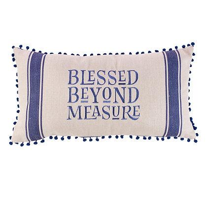 Blessed Beyond Measure Rectangular Pillow