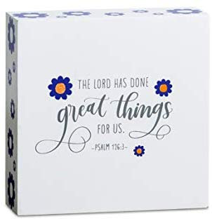 The Lord Has Done Great Things Mini Wall Art