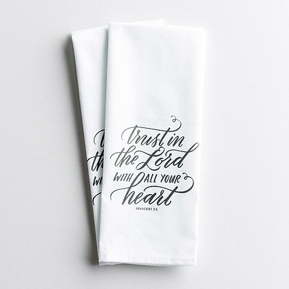 Trust in the Lord - Tea Towel, Set of 2