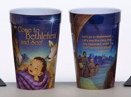 Come To Bethlehem And See Plastic Tumbler