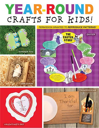 Year Round Crafts for Kids Paperback