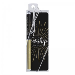 Made To Worship Pen And Bookmark Gift Set