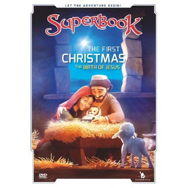 The First Christmas Superbook DVD
