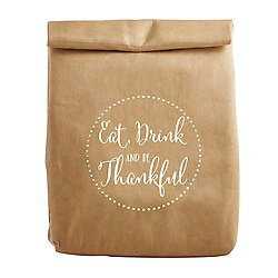 Eat Drink And Be Thankful Lunch Bag
