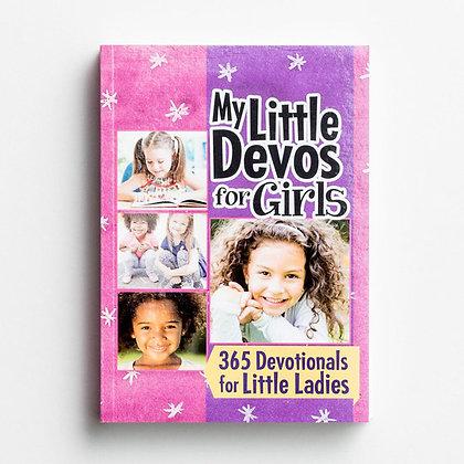 My Little Devos for Girls, 365 Devotionals for Little Ladies