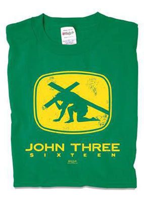 John Three Sixteen  Youth T-shirt M/L