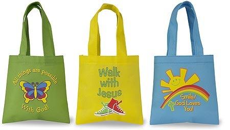 CB Children's Mini Tote Bag 36 Assorted