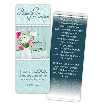 BOUQUET OF BLESSINGS JUMBO BOOKMARK