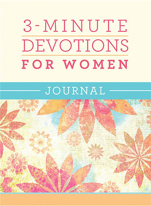 3-Minute Devotions for Women Journal Compiled by Barbour Staff