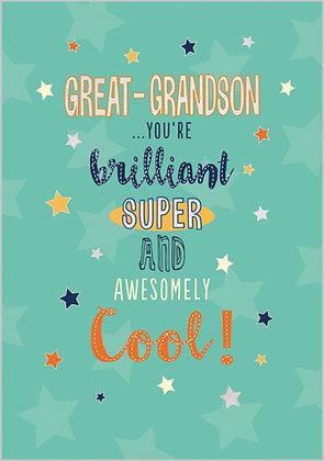 Grandson's birthday card