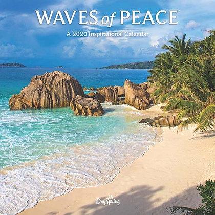 Waves of Peace - 2020 Wall Calendar