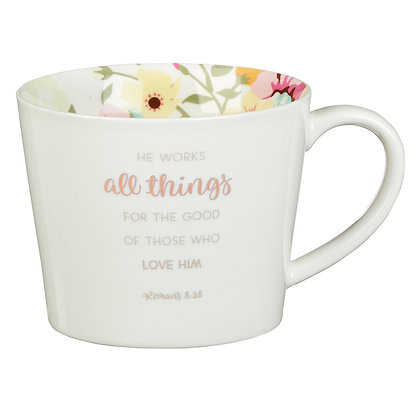 Coffee Mug All Things - Romans 8:28