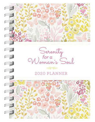 Serenity for a Woman's Soul 2020 Creative PlannerPaperback