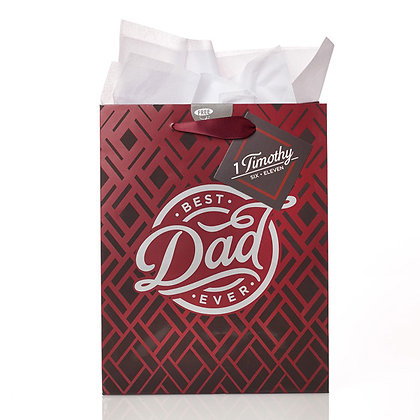 Gift Bag Best Dad Ever ( Fathers day )