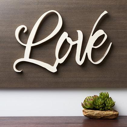 Love - Laser Cutout Wall Art