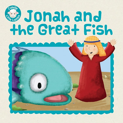 Jonah and the Great Fish Karen Williamson,Sarah Conner