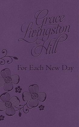 Grace LivingSton Hill For Each New Day Devotional Book