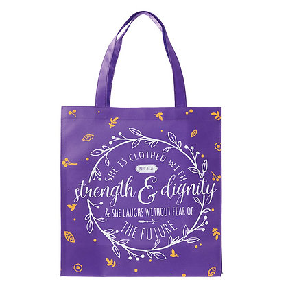 Shopping Bag: Strength & Dignity