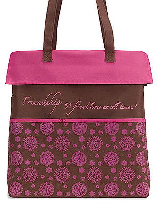Friendship Is A Friend Loves At All Times Tote Bag