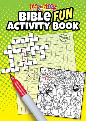ITTY BITTY ACTIVTY BOOK BIBLE FUN
