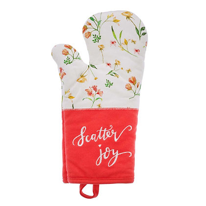 Scatter Joy Quilted Oven Mitt