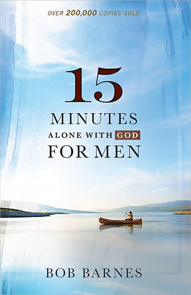 15 Minutes Alone With God For Men Paperback By Bob Barnes