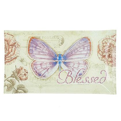 Cutting Board: Butterfly/Jer 17:7