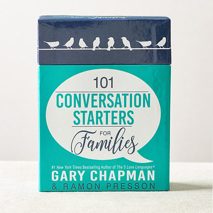 101 Conversation Starters For Family.