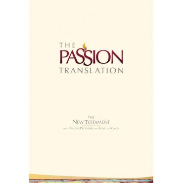 The Passion New Testament - 2nd Edition, Beige, Hardback, Footnotes, Study Notes