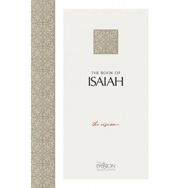 The Passion Translation The Book Of Isaiah, Grey, Paperback