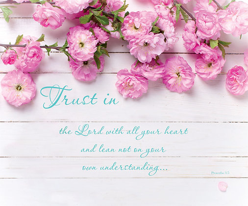 Trust In The Lord Proverbs 3:5 Wall Art