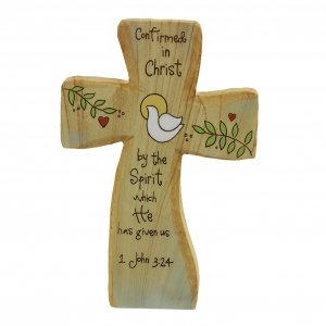 Cross Heavenly Woods Sitter Plague- Confimation