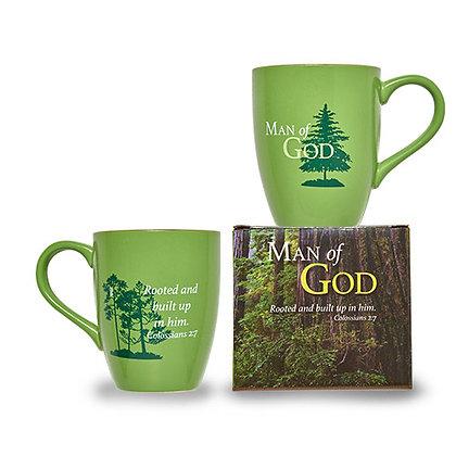 Man Of God Mug Set