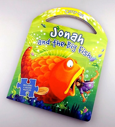 JONAH AND THE BIG FISH PUZZLE CARRY BOOK