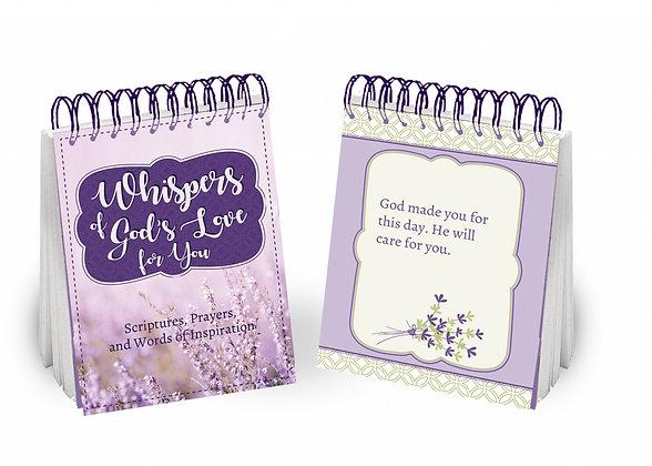 WHISPERS OF GOD'S LOVE FLIP BOOK