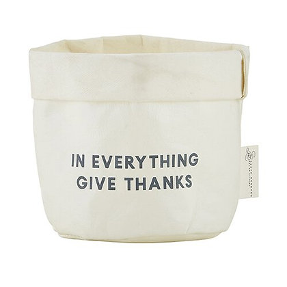 Give Thanks Washable Paper Holder - Small