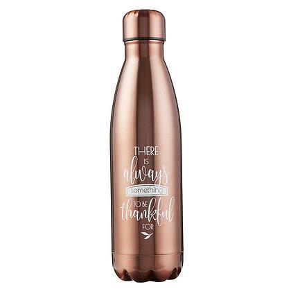 Water Bottle: Thankful Bronze
