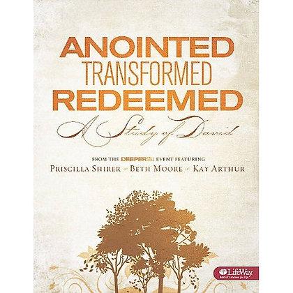 ANOINTED TRANSFORMED REDEEMED DVD ARTHUR, KAY