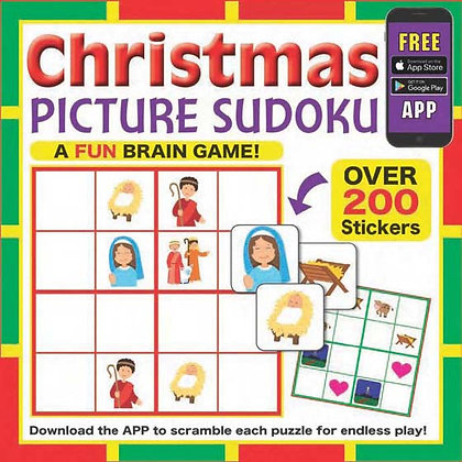 Christmas Picture Sudoku