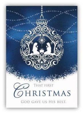 The First Christmas, Box of 12 Christmas Cards (KJV)