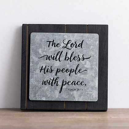 Small Plaque: Lord Bless