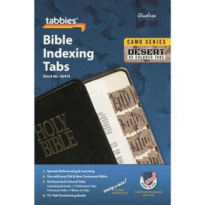BIBLE INDEX TABS CAMO 'DESERT