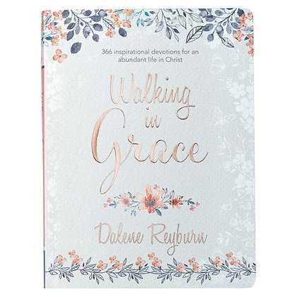Devotional Book; Walking In Grace  Reyburn, Dalene