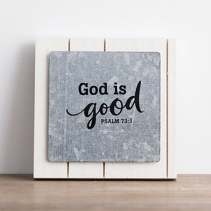 Small Plaque: God Is Good