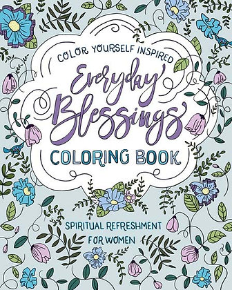 Everyday Blessings Coloring Book Compiled by Barbour Staff
