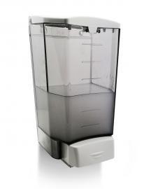 Clear 1 Litre Wall Dispenser - 1