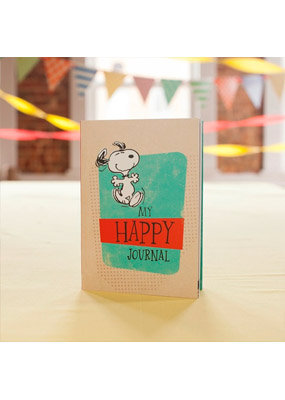 Peanuts - Happy Notebook Journal Snoopy