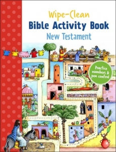 WIPE CLEAN BIBLE ACTIVITY BOOK NEW TESTAMENT