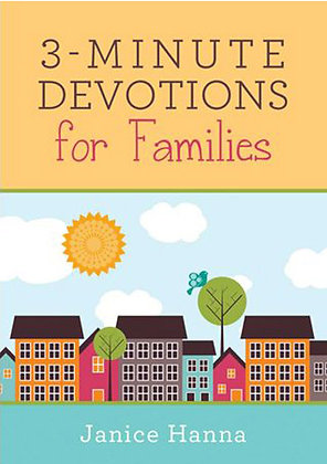 3 Minute Devotions For Families Paperback  Janice Thompson