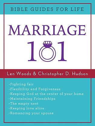 Marriage 101 Paperback By Christopher D. Hudson